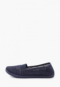 Слипоны, Coura, цвет: синий. Артикул: CO048AWIZBA0. Обувь / Слипоны