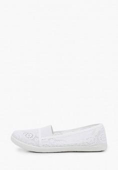 Слипоны, Coura, цвет: белый. Артикул: CO048AWIZBA1. Обувь / Слипоны