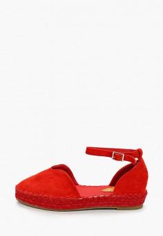 Эспадрильи, Coura, цвет: красный. Артикул: CO048AWJFLV2. Обувь / Эспадрильи