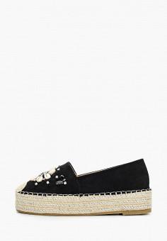 Эспадрильи, Coura, цвет: черный. Артикул: CO048AWJFLW2. Обувь / Эспадрильи