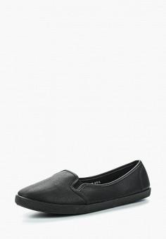 Слипоны, Coura, цвет: черный. Артикул: CO048AWRNT54. Обувь / Слипоны