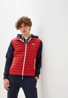 Жилет утепленный, Colmar, цвет: красный. Артикул: CO070EMIPBB3. Одежда / Верхняя одежда / Жилеты