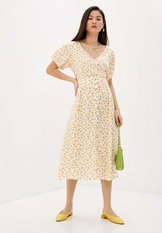 Платье, Cotton On, цвет: белый. Артикул: CO092EWJBTX1. Одежда / Платья и сарафаны / Повседневные платья