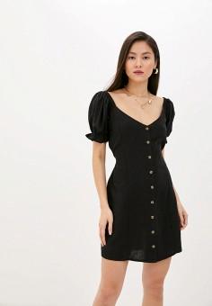 Платье, Cotton On, цвет: черный. Артикул: CO092EWJDJS1. Одежда / Платья и сарафаны / Повседневные платья