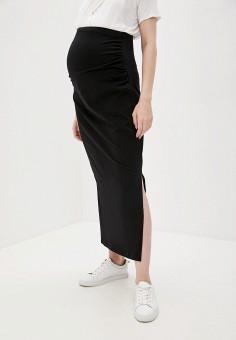 Юбка, Cotton On, цвет: черный. Артикул: CO092EWJPSX7. Одежда / Одежда для беременных