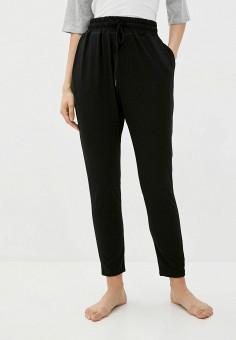 Брюки домашние, Cotton On, цвет: черный. Артикул: CO092EWJSBZ1. Одежда / Домашняя одежда