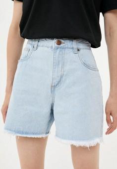 Шорты джинсовые, Cotton On, цвет: голубой. Артикул: CO092EWKAZH7. Одежда / Шорты