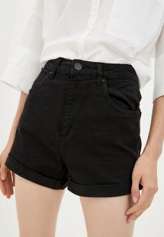 Шорты джинсовые, Cotton On, цвет: черный. Артикул: CO092EWKAZI3. Одежда / Шорты