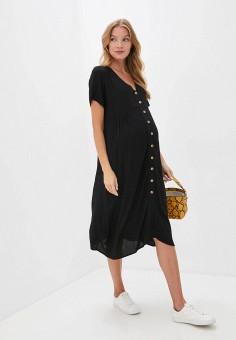 Платье, Cotton On, цвет: черный. Артикул: CO092EWKAZK4. Одежда / Одежда для беременных