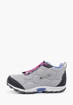 Кроссовки, Columbia, цвет: серый. Артикул: CO214AGGEVR0. Девочкам / Спорт