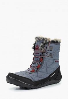 Ботинки, Columbia, цвет: серый. Артикул: CO214AWCPQW6. Обувь / Ботинки / Высокие ботинки