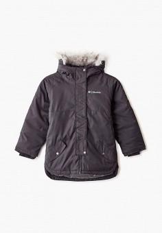 Куртка утепленная, Columbia, цвет: черный. Артикул: CO214EBGEUV7. Мальчикам / Одежда / Верхняя одежда / Куртки и пуховики