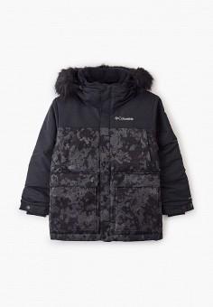 Пуховик, Columbia, цвет: черный. Артикул: CO214EBGEUW6. Мальчикам / Одежда / Верхняя одежда / Куртки и пуховики