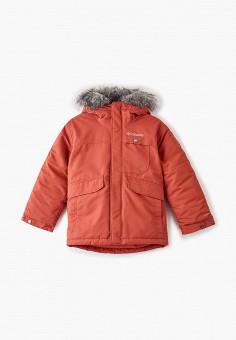 Куртка утепленная, Columbia, цвет: оранжевый. Артикул: CO214EBGEUX4.