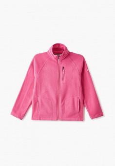 Олимпийка, Columbia, цвет: розовый. Артикул: CO214EGGEUU6.