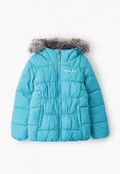 Куртка утепленная, Columbia, цвет: голубой. Артикул: CO214EGGEUV3.