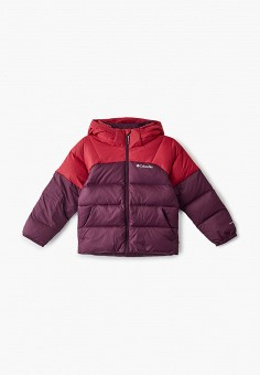 Куртка утепленная, Columbia, цвет: розовый, фиолетовый. Артикул: CO214EGGEUX7.