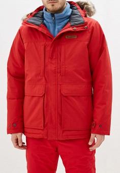 Куртка утепленная, Columbia, цвет: красный. Артикул: CO214EMHIDJ0. Одежда / Верхняя одежда / Пуховики и зимние куртки