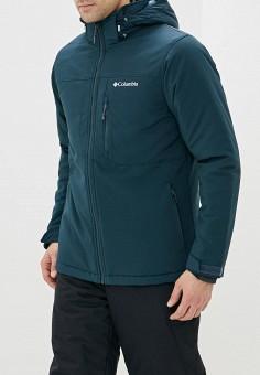 Куртка утепленная, Columbia, цвет: бирюзовый. Артикул: CO214EMHIDK0. Одежда / Верхняя одежда / Пуховики и зимние куртки / Зимние куртки