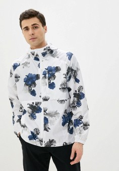 Ветровка, Columbia, цвет: белый. Артикул: CO214EMIFCX6. Одежда / Верхняя одежда / Легкие куртки и ветровки