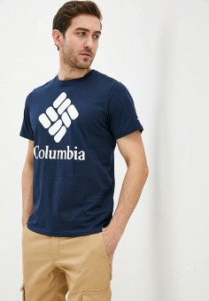Футболка, Columbia, цвет: синий. Артикул: CO214EMIFDU2.