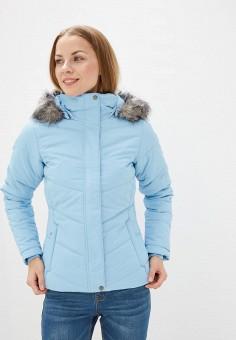 Куртка утепленная, Columbia, цвет: голубой. Артикул: CO214EWGEWH6.