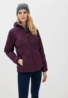 Пуховик, Columbia, цвет: фиолетовый. Артикул: CO214EWGGBG1. Одежда / Верхняя одежда / Пуховики и зимние куртки / Пуховики
