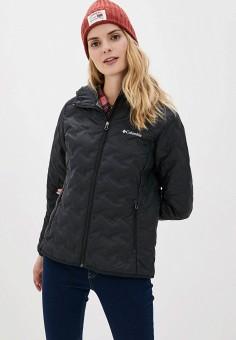 Пуховик, Columbia, цвет: черный. Артикул: CO214EWGGBG9. Одежда / Верхняя одежда / Пуховики и зимние куртки / Пуховики