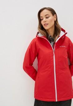 Куртка горнолыжная, Columbia, цвет: красный. Артикул: CO214EWHIEJ5. Одежда / Верхняя одежда