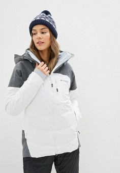 Куртка горнолыжная, Columbia, цвет: белый. Артикул: CO214EWHIEM2.