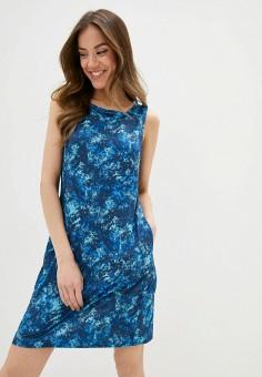 Платье, Columbia, цвет: синий. Артикул: CO214EWIFEE6.