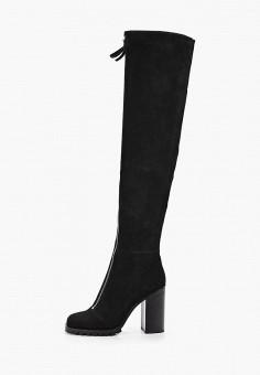 Ботфорты, Corso Como, цвет: черный. Артикул: CO229AWGQGO1. Обувь / Сапоги / Ботфорты