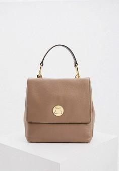 Рюкзак, Coccinelle, цвет: бежевый. Артикул: CO238BWHEUE8. Аксессуары / Рюкзаки