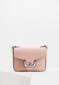 Сумка, Coccinelle, цвет: розовый. Артикул: CO238BWHEUG4.