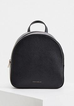 Рюкзак, Coccinelle, цвет: черный. Артикул: CO238BWHPVX2. Аксессуары / Рюкзаки / Рюкзаки
