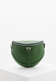 Сумка поясная, Coccinelle, цвет: зеленый. Артикул: CO238BWHPVY7.