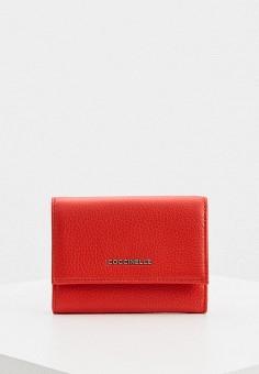 Кошелек, Coccinelle, цвет: красный. Артикул: CO238BWHPWG3.