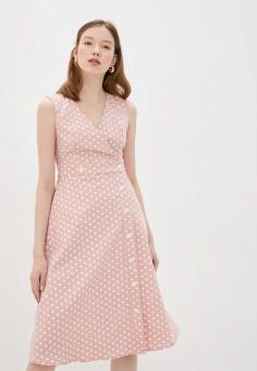 Платье, Compania Fantastica, цвет: розовый. Артикул: CO713EWHZXO4. Одежда / Платья и сарафаны