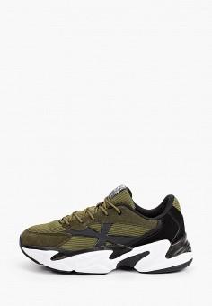 Кроссовки, Crosby, цвет: хаки. Артикул: CR004ABIOYT3. Мальчикам / Обувь / Кроссовки и кеды