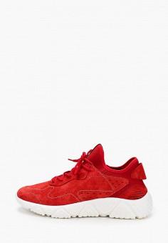 Кроссовки, Crosby, цвет: красный. Артикул: CR004AMIHTW6. Обувь / Кроссовки и кеды / Кроссовки / Низкие кроссовки