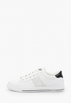 Кеды, Crosby, цвет: белый. Артикул: CR004AMIHTZ1. Обувь / Кроссовки и кеды / Кеды