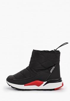 Дутики, Crosby, цвет: черный. Артикул: CR004AWFQVT4. Обувь / Сапоги / Дутики