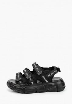 Сандалии, Crosby, цвет: черный. Артикул: CR004AWIHTC8. Обувь