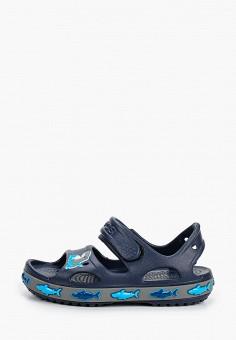 Сандалии, Crocs, цвет: синий. Артикул: CR014ABIJVC8.