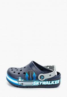 Сабо, Crocs, цвет: синий. Артикул: CR014ABIJVD1.
