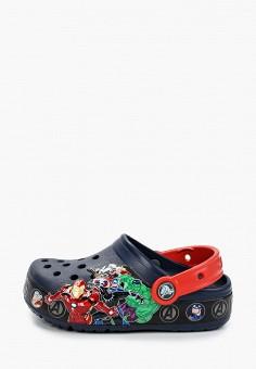 Сабо, Crocs, цвет: синий. Артикул: CR014ABIJVE3.