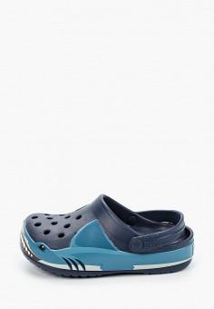 Сабо, Crocs, цвет: синий. Артикул: CR014ABIJVE5.