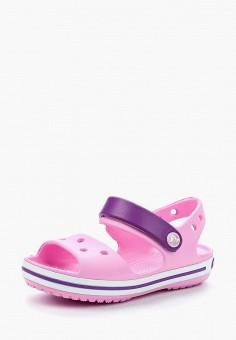 Сандалии, Crocs, цвет: розовый. Артикул: CR014AGARRM0.