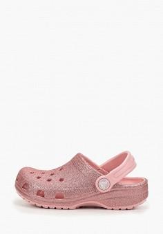 Сабо, Crocs, цвет: розовый. Артикул: CR014AGGKYM8.