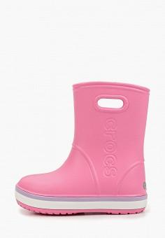 Резиновые сапоги, Crocs, цвет: розовый. Артикул: CR014AGGKYO6.
